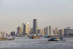 Shanghai - Huang Pu River Royalty Free Stock Image