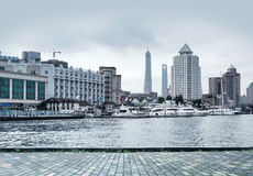 Shanghai Huangpu River Stock Photos