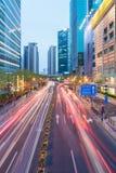Shanghai i stadens centrum cityscape royaltyfri foto