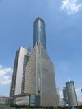 Shanghai im Stadtzentrum gelegen Lizenzfreie Stockfotografie