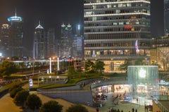Shanghai, im Stadtzentrum gelegenes China Lizenzfreie Stockfotos