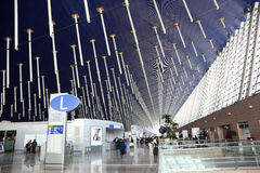 Shanghai International Airport Royalty Free Stock Photography