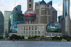 The Shanghai International Conference Center Stock Images