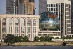 Shanghai international convention center  Stock Photos