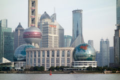 Shanghai International Convention Center Royalty Free Stock Images