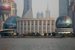 Shanghai International Convention Center Stock Photo