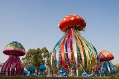 2016 Shanghai International Magic Lantern Carnival city of light Royalty Free Stock Photos