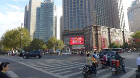 Shanghai Intersection Royalty Free Stock Photo