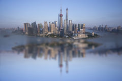 Shanghai island Stock Photos