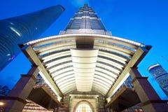 Shanghai Jin Mao Building Hyatt Immagine Stock Libera da Diritti