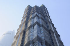 Shanghai' Jin Mao Tower Royalty Free Stock Photography
