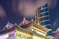 Shanghai Jingan Temple Royalty Free Stock Image