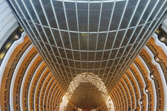 Shanghai jinmao tower interior Royalty Free Stock Images