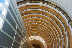 Shanghai jinmao tower interior Royalty Free Stock Photography
