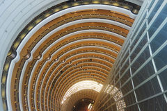 Shanghai jinmao tower interior Stock Photography