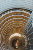 Shanghai jinmao tower interior Royalty Free Stock Image