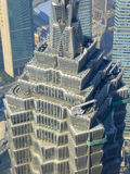 Shanghai Jinmao tower top Royalty Free Stock Image
