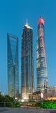 Shanghai Kina - April 30, 2017: Ji Mao, Shanghai torn och Sh Arkivbild