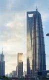 SHANGHAI KINA - JUNI 26,2017: Shanghai stad i morgonen Royaltyfri Fotografi