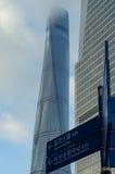 SHANGHAI KINA - JUNI 26,2017: Shanghai torn Royaltyfria Bilder