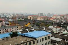Shanghai Kina Songjiang område Royaltyfri Foto