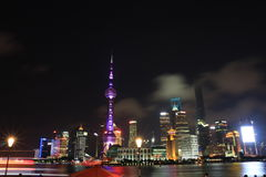 Shanghai landmark� the oriental pearl TV tower Royalty Free Stock Photography