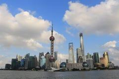 Shanghai landmark, the oriental pearl TV tower Stock Images