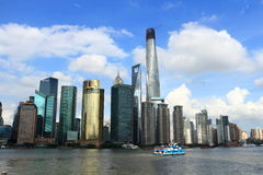 Shanghai landmark�Shanghai Tower Stock Image