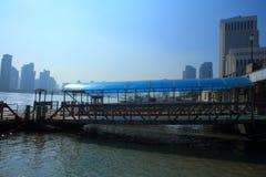 Shanghai landmark,Shanghai ferry terminal Royalty Free Stock Images
