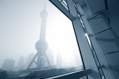 Shanghai landmark Stock Images