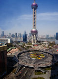 Shanghai landmark,Oriental Pearl Tower Stock Images