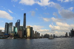 Shanghai landmark Stock Photos