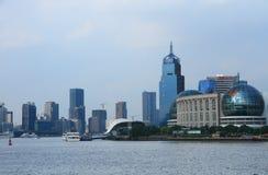 Shanghai landmark Stock Photos
