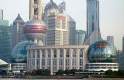 Shanghai landskampkonventcentrum Arkivfoto