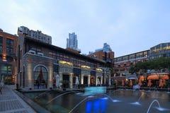 Shanghai laomatouen Arkivbilder