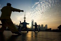 Shanghai-Leben Lizenzfreies Stockfoto