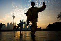 Shanghai-Leben Stockbild