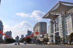 Shanghai-Leute-Quadrat Stockbild