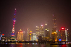 shanghai linia horyzontu Zdjęcie Royalty Free