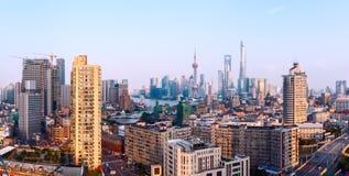 shanghai linia horyzontu Fotografia Royalty Free