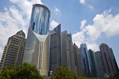 shanghai linia horyzontu Zdjęcie Stock