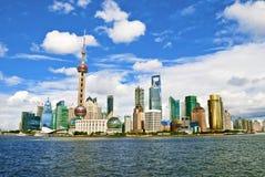 Shanghai Lujiazui Stock Photo