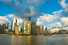 Shanghai Lujiazui Royalty Free Stock Photography