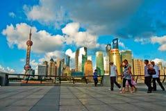 Shanghai Lujiazui Stock Photography