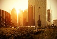 Shanghai Lujiazui Stock Foto