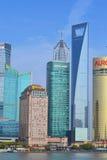 Shanghai Lujiazui Stockbilder