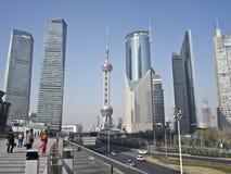 Shanghai lujiazui Fotografering för Bildbyråer