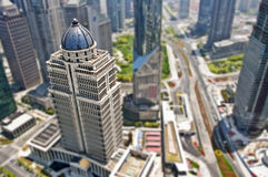 Shanghai Lujiazui district business Royalty Free Stock Images