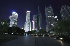Shanghai Lujiazui Finance & City landmark buildings Urban Landscape Royalty Free Stock Image