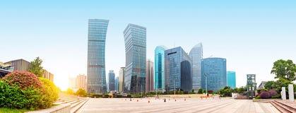 Shanghai Lujiazui Financial Center skyscraper Stock Photography